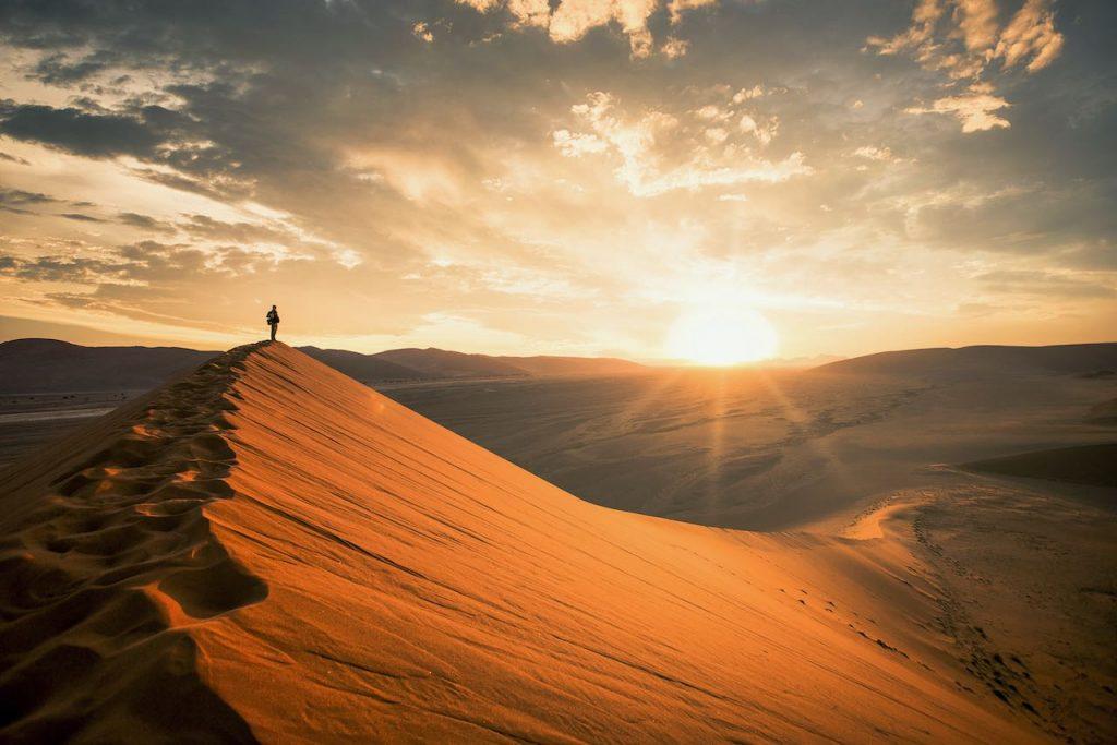 Pasando el Desierto