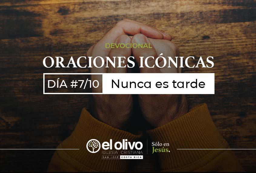 Devocional: Oraciones icónicas - Día #7