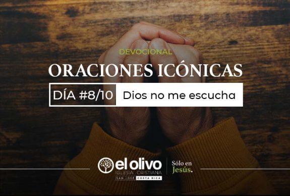 Devocional: Oraciones icónicas – Día #8