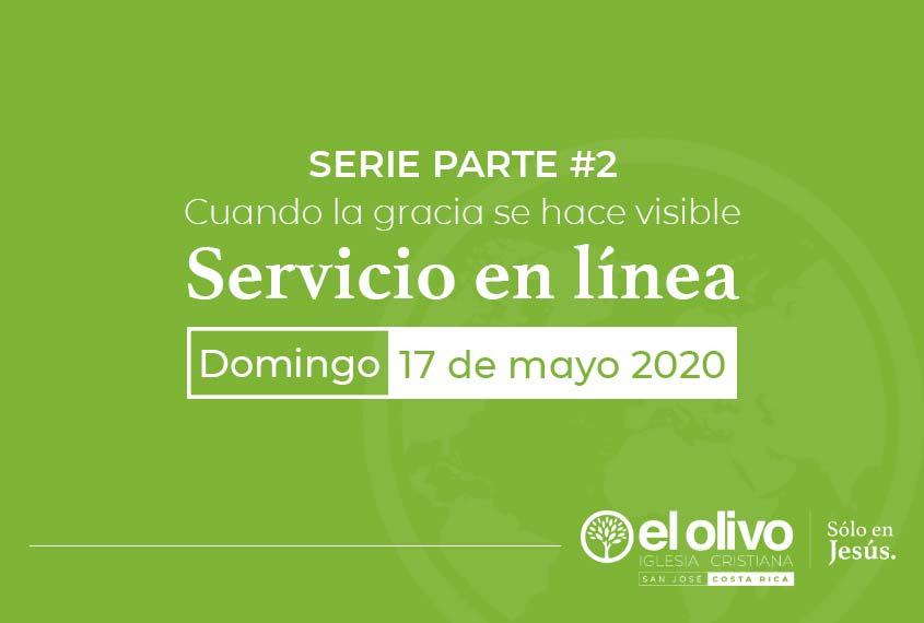 Servicio en línea domingo 17 de mayo 2020