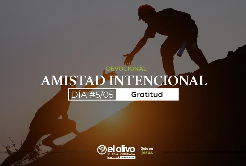 Devocional: Amistades Intencionales - Día #5