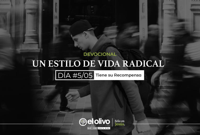 Devocional: Un estilo de vida radical - Día #5